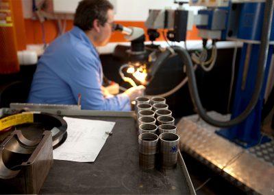 saldatura laser acciaio