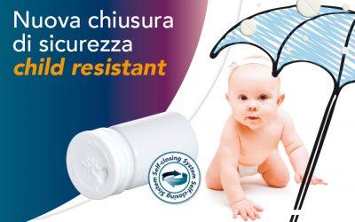 Chiusura Child Resistant