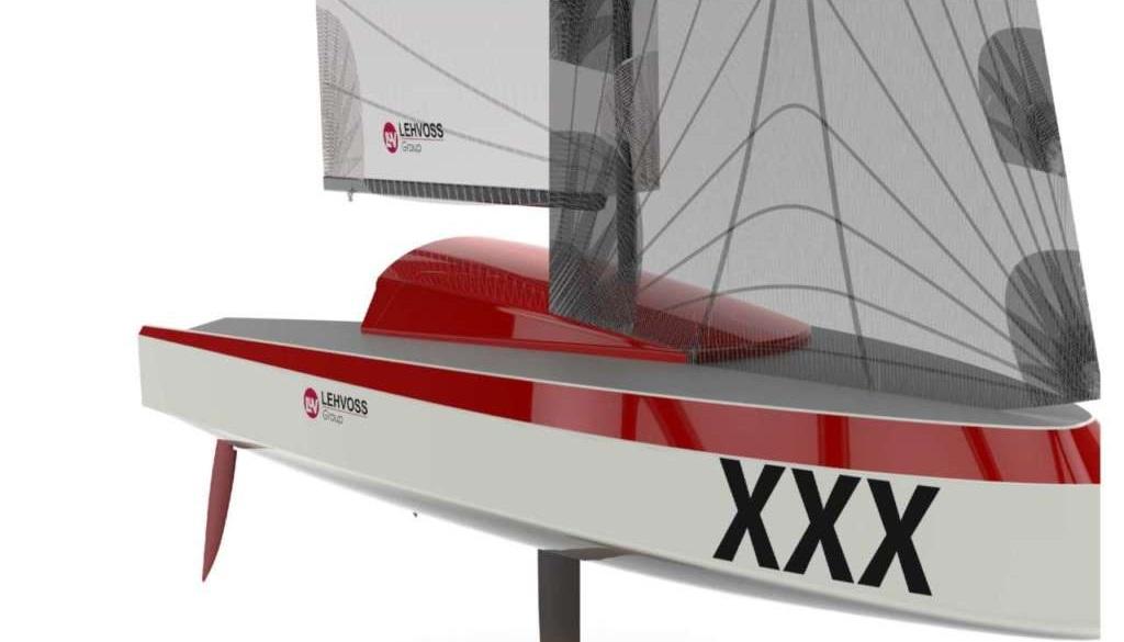 La prima barca a vela in 3D
